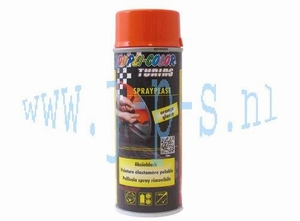 SPUITBUS SPRAY-PLAST 400 ML  ORANJE DUPLI COLOR