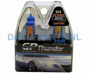 XENON LOOK LAMPENSET H4 100/90W GP THUNDER