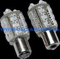 LED BULB 1157 18 AMBER LED'S (BA15D)